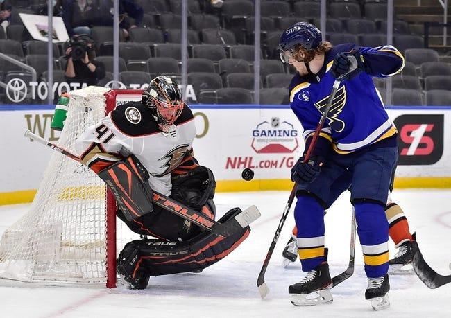 St. Louis Blues vs Anaheim Ducks NHL Picks, Odds, Predictions 5/5/21