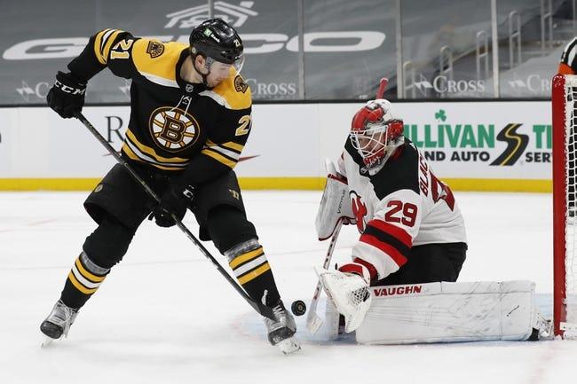 Boston Bruins vs New Jersey Devils NHL Picks, Odds, Predictions 3/30/21