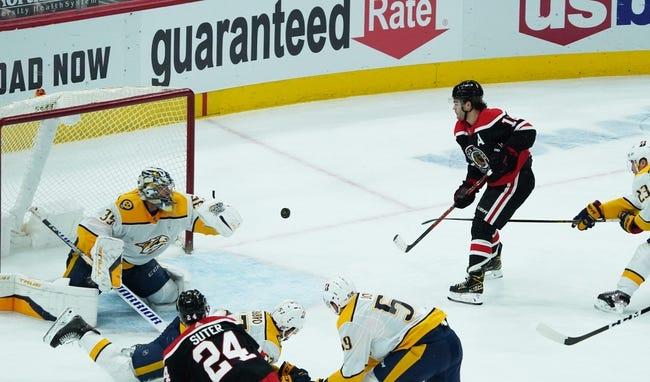 Nashville Predators vs Chicago Blackhawks NHL Picks, Odds, Predictions 4/3/21