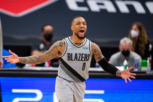 Portland Trail Blazers at Detroit Pistons - 3/31/21 NBA Picks and Prediction