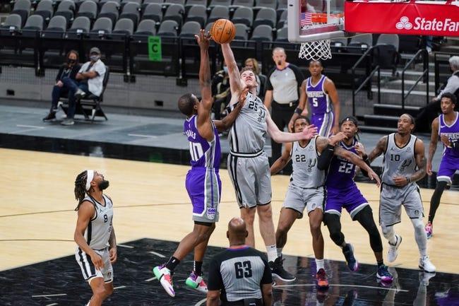 Sacramento Kings at San Antonio Spurs - 3/31/21 NBA Picks and Prediction