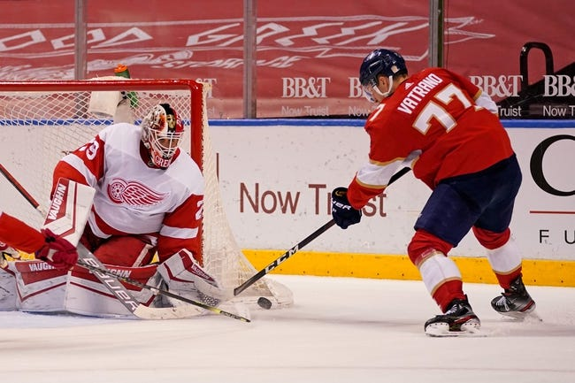 Florida Panthers vs Detroit Red Wings NHL Picks, Odds, Predictions 4/1/21