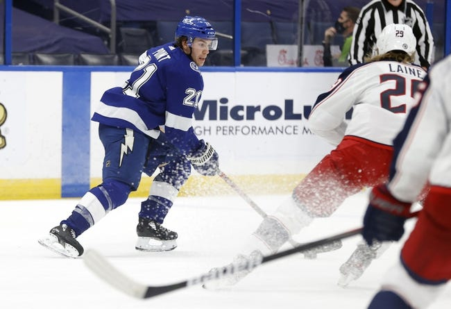 Tampa Bay Lightning vs Columbus Blue Jackets NHL Picks, Odds, Predictions 4/1/21