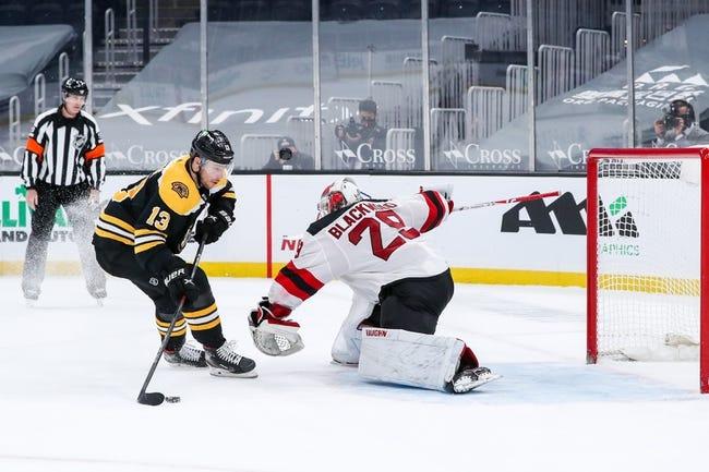New Jersey Devils vs Boston Bruins NHL Picks, Odds, Predictions 5/3/21