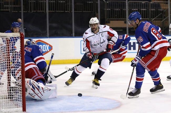 New York Rangers vs Washington Capitals NHL Picks, Odds, Predictions 5/3/21