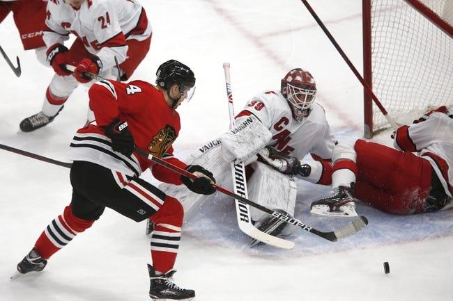 Chicago Blackhawks vs Carolina Hurricanes NHL Picks, Odds, Predictions 4/1/21