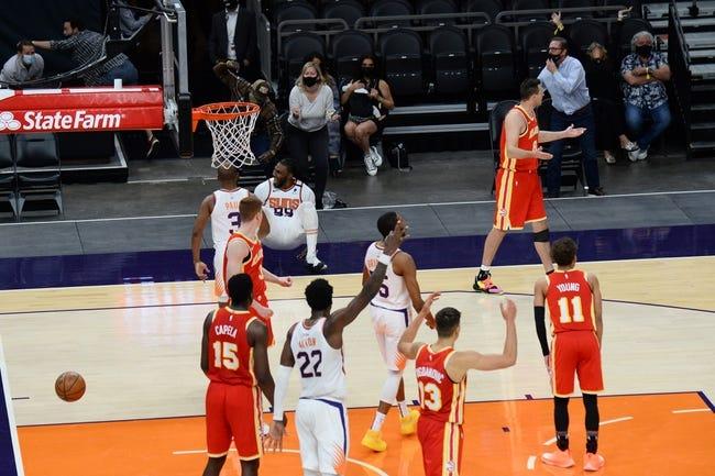 Atlanta Hawks vs Phoenix Suns NBA Picks, Odds, Predictions 5/5/21