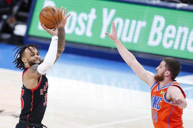 Oklahoma City Thunder at Toronto Raptors - 4/18/21 NBA Picks and Prediction