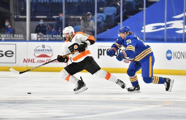 Buffalo Sabres at Philadelphia Flyers - 4/11/21 NHL Picks and Prediction