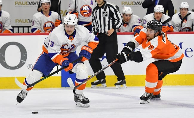Philadelphia Flyers at New York Islanders - 4/3/21 NHL Picks and Prediction