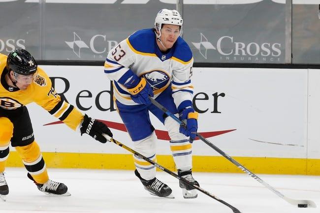 Buffalo Sabres at Boston Bruins - 4/13/21 NHL Picks and Prediction