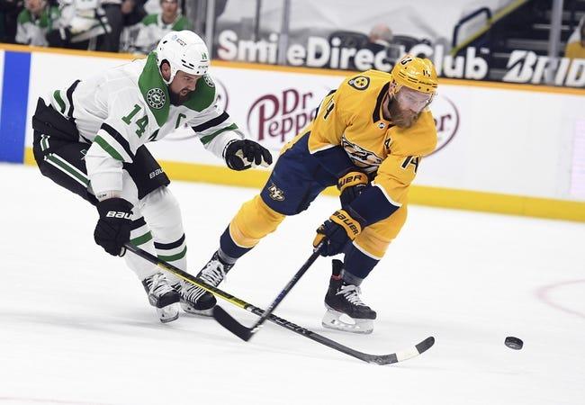 Nashville Predators vs Dallas Stars NHL Picks, Odds, Predictions 4/11/21
