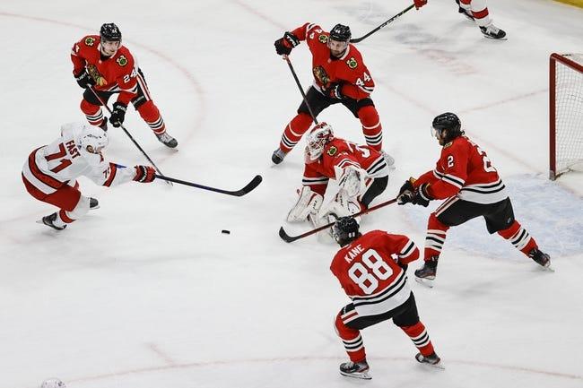 Carolina Hurricanes vs Chicago Blackhawks NHL Picks, Odds, Predictions 5/3/21
