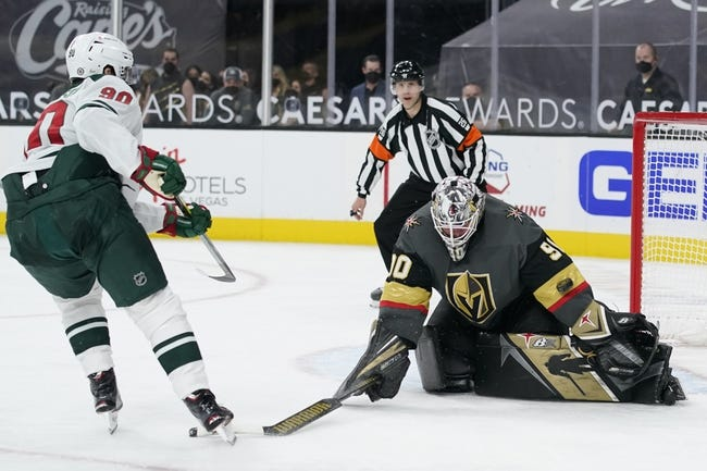Minnesota Wild at Vegas Golden Knights - 4/3/21 NHL Picks and Prediction