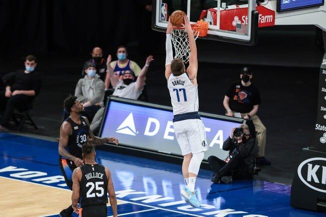 New York Knicks at Dallas Mavericks - 4/16/21 NBA Picks and Prediction