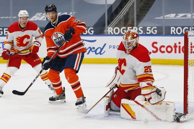 Edmonton Oilers at Calgary Flames - 4/10/21 NHL Picks and Prediction
