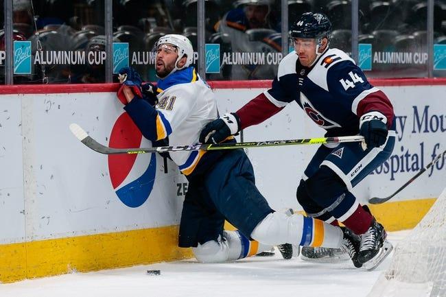 Colorado Avalanche vs St. Louis Blues NHL Picks, Odds, Predictions 4/3/21