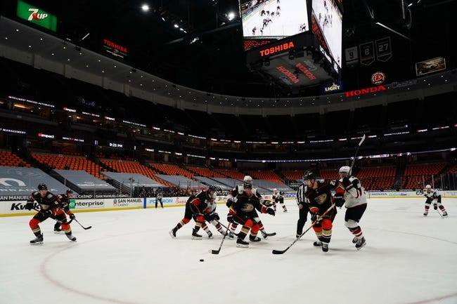 Anaheim Ducks vs Arizona Coyotes NHL Picks, Odds, Predictions 4/4/21