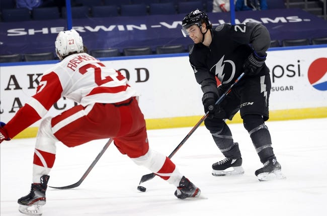 Tampa Bay Lightning vs Detroit Red Wings NHL Picks, Odds, Predictions 4/4/21