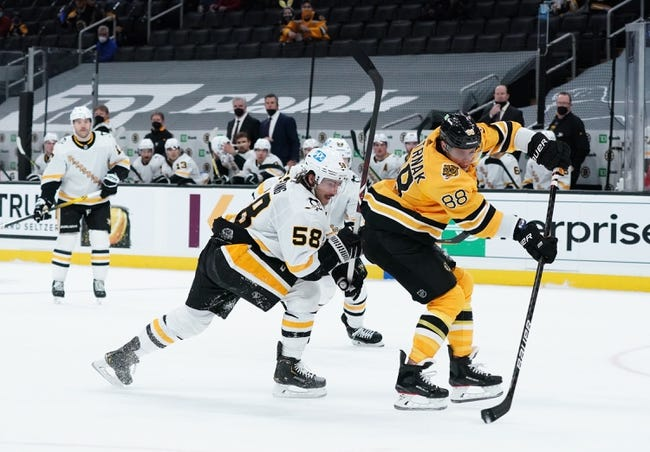 Pittsburgh Penguins vs Boston Bruins NHL Picks, Odds, Predictions 4/25/21