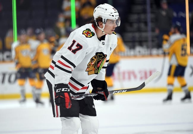 Nashville Predators vs Chicago Blackhawks NHL Picks, Odds, Predictions 4/19/21