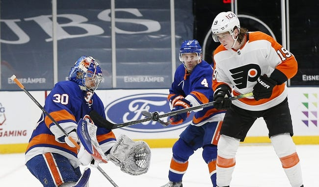 Philadelphia Flyers at New York Islanders - 4/8/21 NHL Picks and Prediction