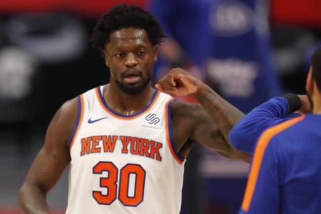 New York Knicks at Brooklyn Nets - 4/5/21 NBA Picks and Prediction