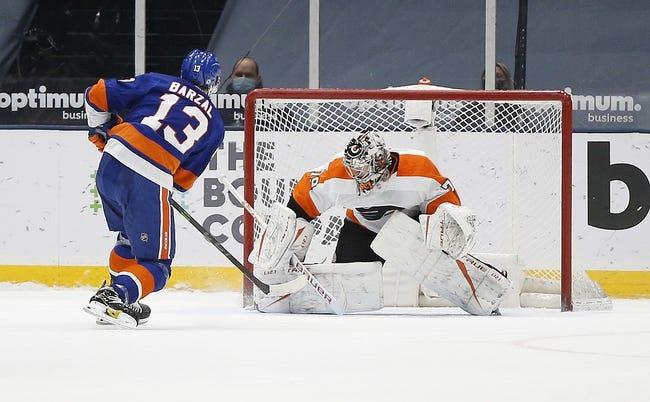 New York Islanders vs Philadelphia Flyers NHL Picks, Odds, Predictions 4/8/21