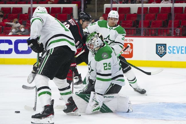 Carolina Hurricanes vs Dallas Stars NHL Picks, Odds, Predictions 4/4/21