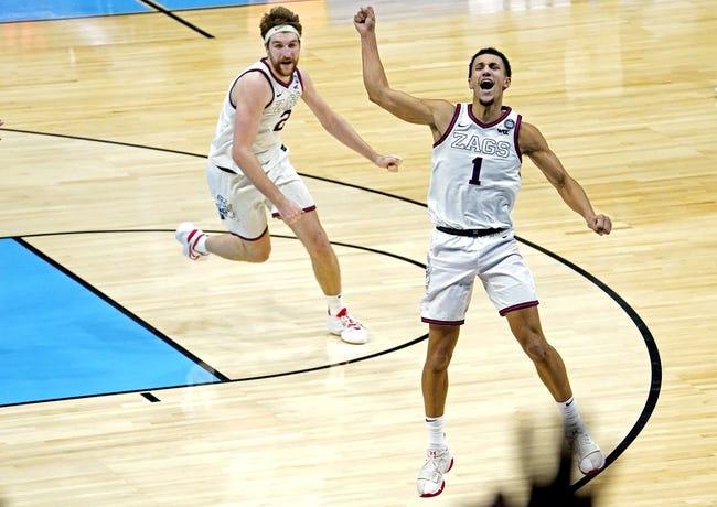 Baylor at Gonzaga: 4/5/21 NCAA Tournament College Basketball Picks and Predictions