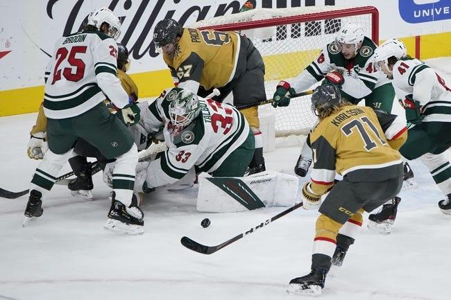 Minnesota Wild vs Vegas Golden Knights NHL Picks, Odds, Predictions 5/3/21