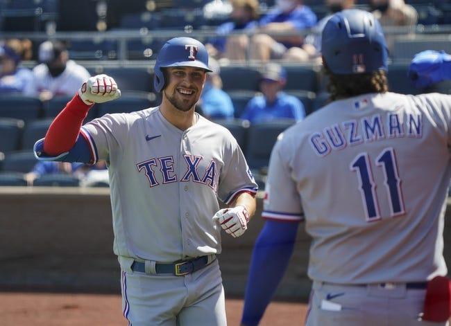 Toronto Blue Jays at Texas Rangers: 4/5/21 MLB Picks and Predictions