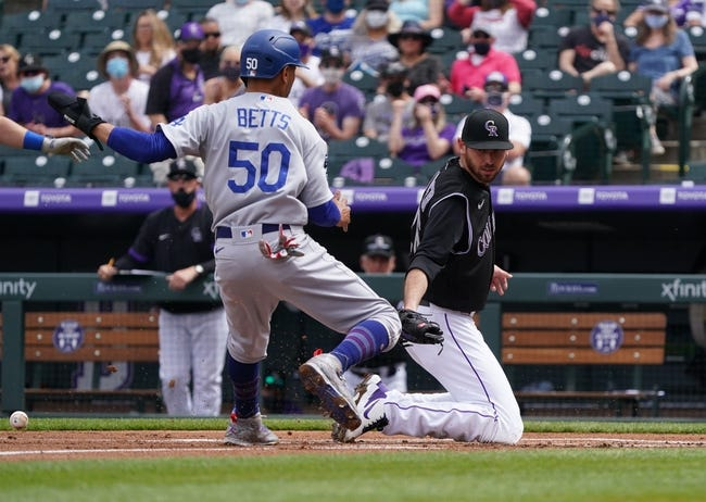 Los Angeles Dodgers vs Colorado Rockies MLB Picks, Odds, Predictions 4/13/21