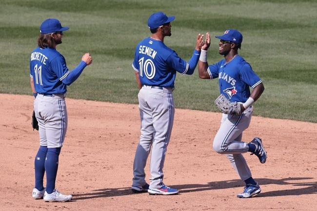 Toronto Blue Jays at Texas Rangers - 4/6/21 MLB Picks and Prediction