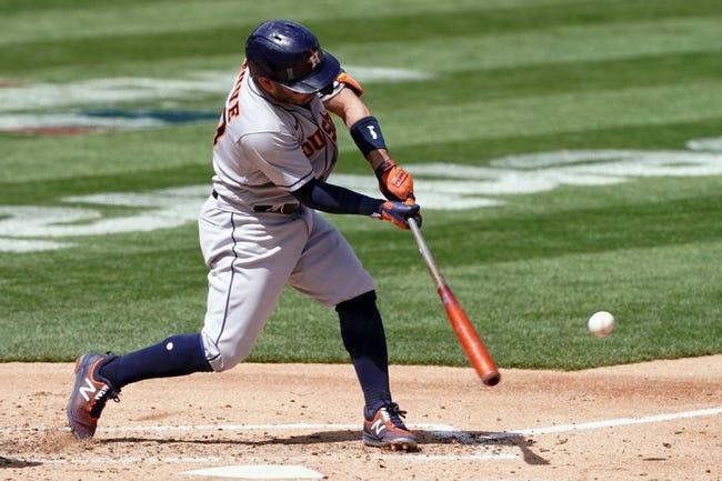 Oakland Athletics at Houston Astros - 4/10/21 MLB Picks and Prediction