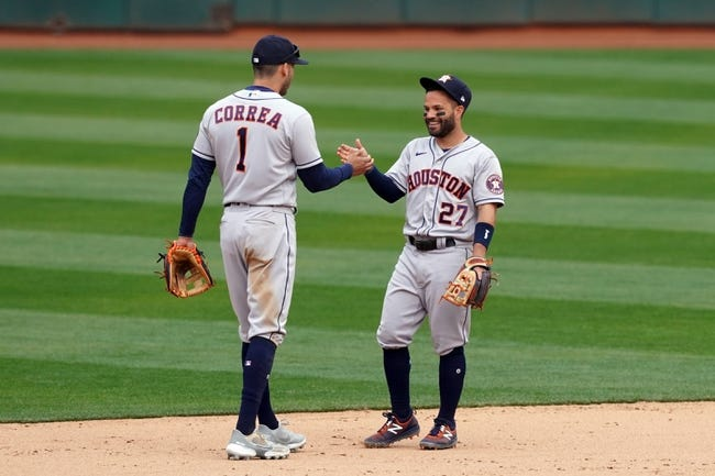 Oakland Athletics at Houston Astros - 4/8/21 MLB Picks and Prediction