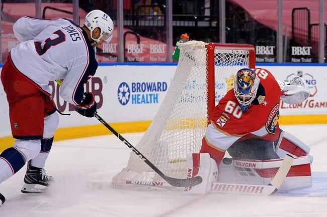 Florida Panthers vs Columbus Blue Jackets NHL Picks, Odds, Predictions 4/19/21