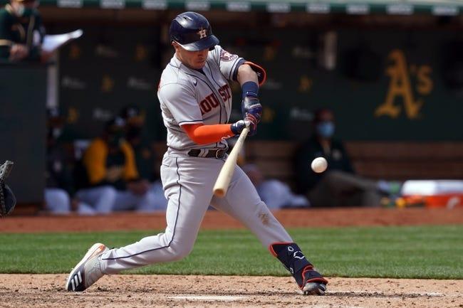 Oakland Athletics at Houston Astros - 4/9/21 MLB Picks and Prediction