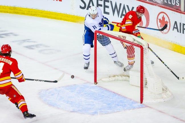 Calgary Flames vs Toronto Maple Leafs NHL Picks, Odds, Predictions 4/5/21