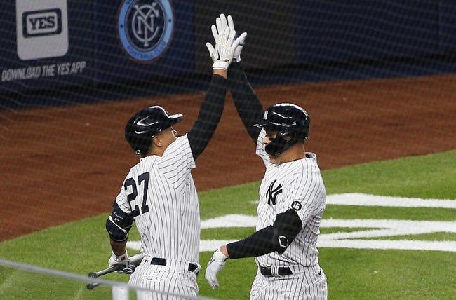 New York Yankees at Tampa Bay Rays - 4/9/21 MLB Picks and Prediction