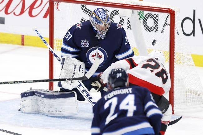 Winnipeg Jets at Ottawa Senators - 4/12/21 NHL Picks and Prediction