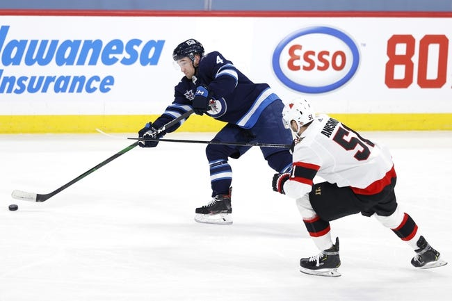 Ottawa Senators vs Winnipeg Jets NHL Picks, Odds, Predictions 4/12/21