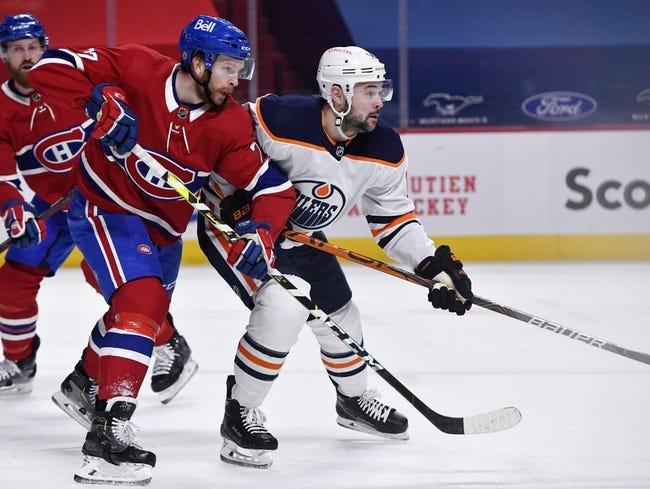 Edmonton Oilers vs Montreal Canadiens NHL Picks, Odds, Predictions 4/19/21