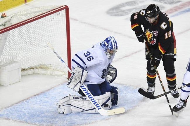 Toronto Maple Leafs vs Calgary Flames NHL Picks, Odds, Predictions 4/13/21