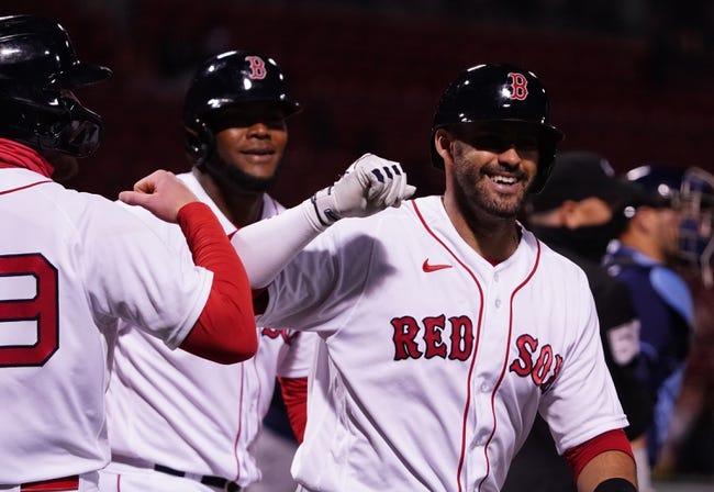 Tampa Bay Rays at Boston Red Sox: 4/6/21 MLB Picks and Predictions