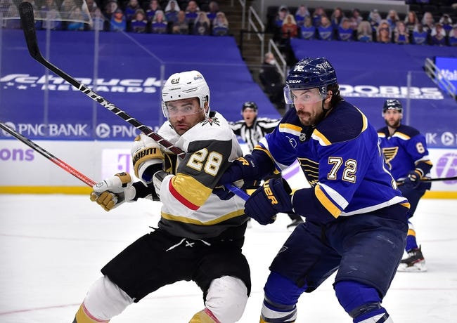 Vegas Golden Knights at St. Louis Blues - 4/7/21 NHL Picks and Prediction