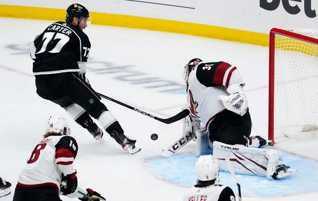 Arizona Coyotes at Los Angeles Kings - 4/7/21 NHL Picks and Prediction