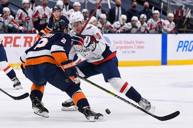 Washington Capitals at New York Islanders - 4/22/21 NHL Picks and Prediction