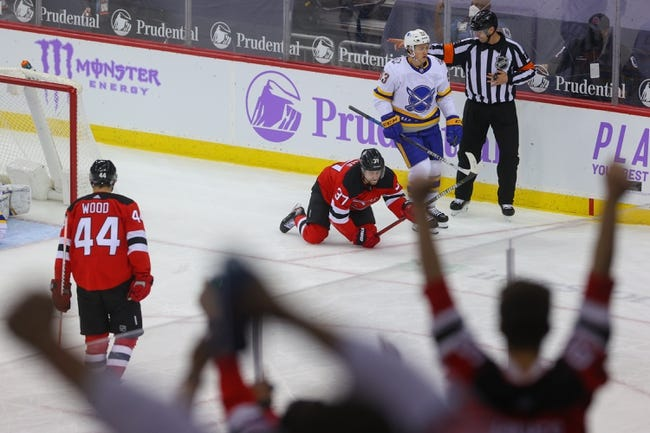 New Jersey Devils at Buffalo Sabres - 4/8/21 NHL Picks and Prediction