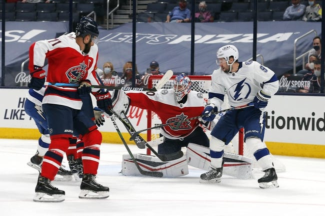 Tampa Bay Lightning at Columbus Blue Jackets - 4/8/21 NHL Picks and Prediction